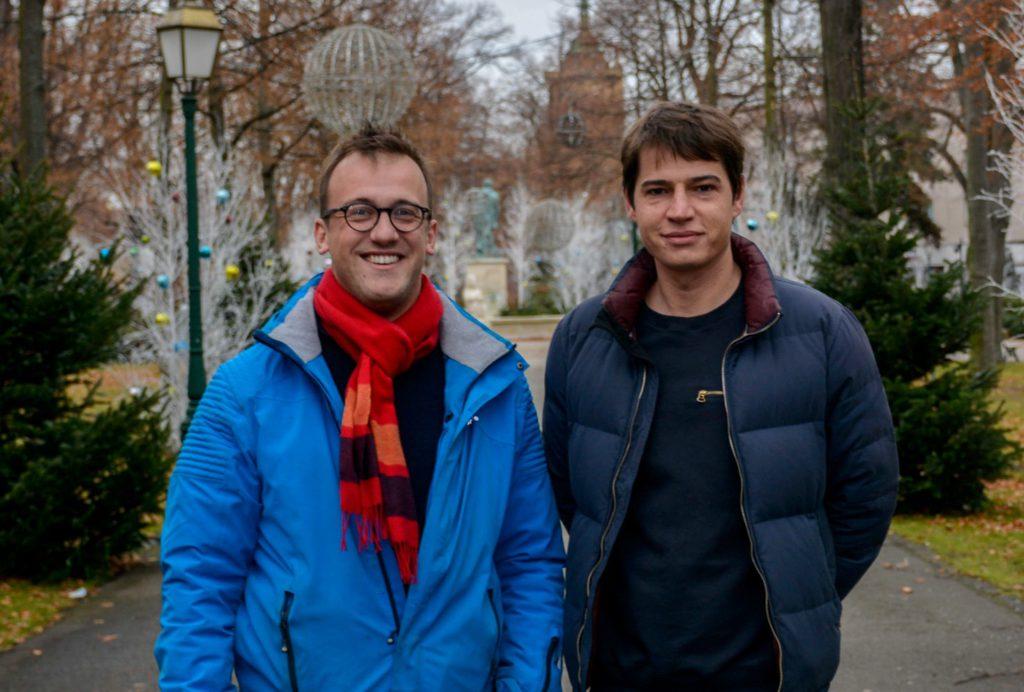 Guillaume Kling et Julien Di Giusto. Photo Thomas Toussaint.