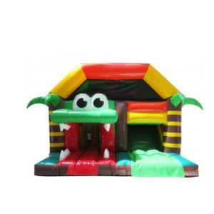 Chateau gonflable pour aire de jeux gonflable